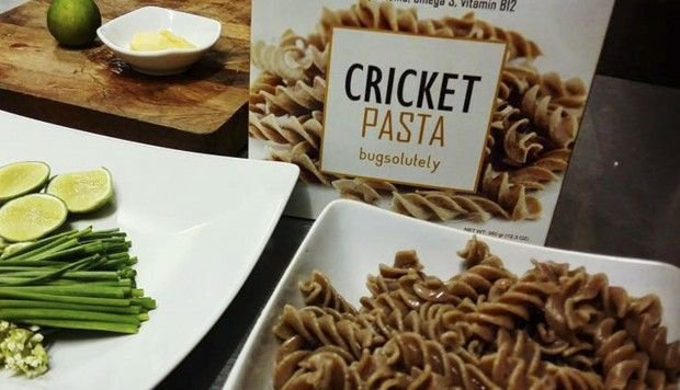Bugsolutely Cricket Pasta - The best Cricket Pasta in the World