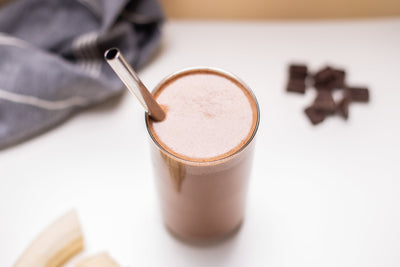 DARK CHOCOLATE MOCHA CRICKET FLOUR PROTEIN SMOOTHIE