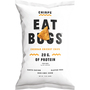 CHIRPS CHEDDAR CRICKET PROTEIN CHIPS