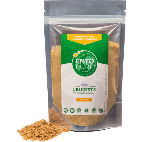 ENTO PURE Powder banded Crickets - bag 100gr