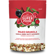 ASF - PALEO GRANOLA  VANILLA, BERRY, NUTTY GOODNESS 320gr