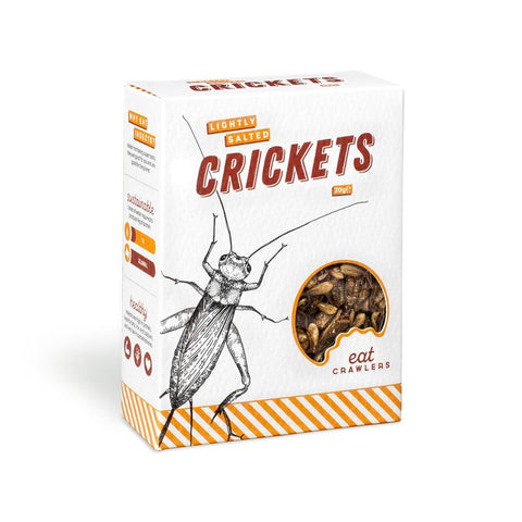 Eat Crawlers Lightly Salted Crickets