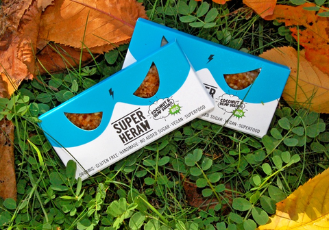 SUPERHERAW - ENERGY BAR COCONUT & HEMPSEEDS
