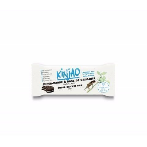 KINJAO - Protein bar with Orèo flavor crickets