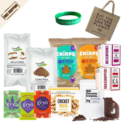 2# Explorer BAG  - Insects Snacks, Flour and Bars - FREE SHIPPING, Bracelet and Bag