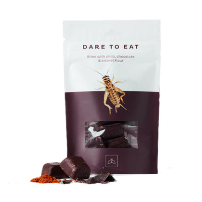 WHOLI - DARE TO EAT CHILLI, CHOCOLATE AND CRICKETS