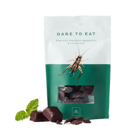 WHOLI - DARE TO EAT PEPPERMINT, CHOCOLATE & CRICKETS