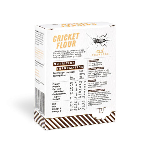 Eat Crawlers Cricket Flour 50gr