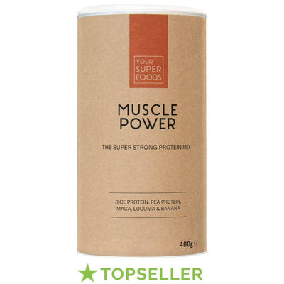 YSF - ORGANIC MUSCLE POWER MIX 400gr