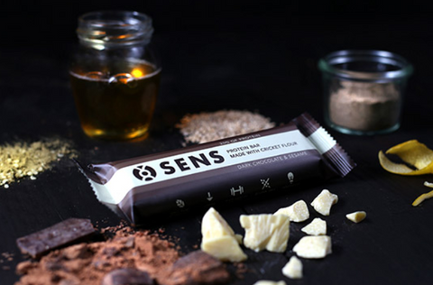 SENS - PROTEIN BAR Dark chocolate & sesame
