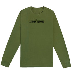 Always Blessed Long-Sleeve (Olive)