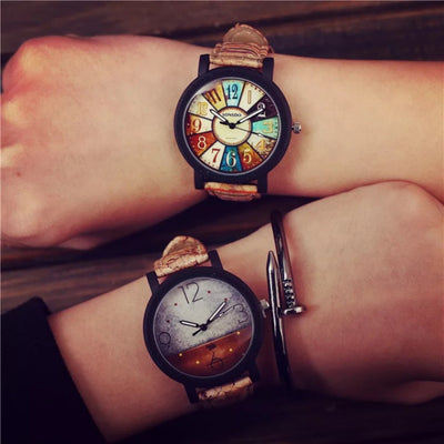 Unique Vintage Leather Watch
