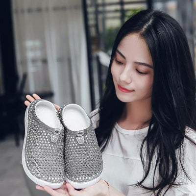 Arani Hollow-Out Slippers