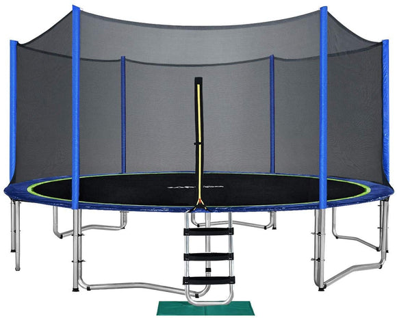 Zupapa Saffun 14' Trampoline With Safety Enclosure