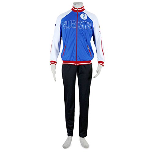 Another Me Yuri!!! on Ice Plisetsky Cool High School Uniform FullSet Sportswear Cosplay Costume