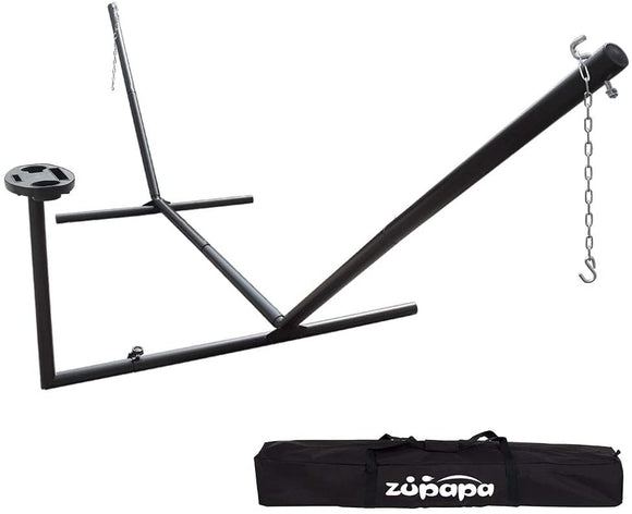 Zupapa Hammock Stand with Tray Fit for 12-15 Feet Hammock