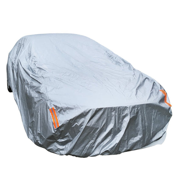 WaterProof Breathable Full Size Sedan Car Cover Indoor Outdoor Universal Fit 210Inch
