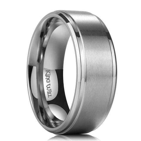rings s new silver deer shardon wedding fit hunting comfort elk pipe tungsten tactical men design ring item
