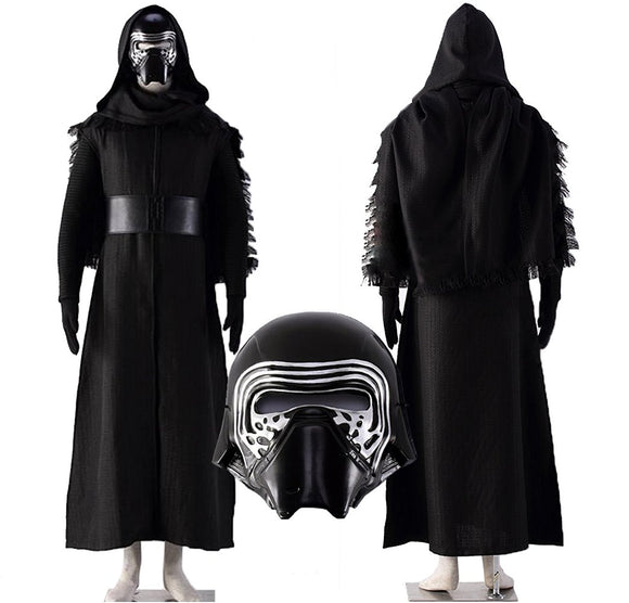 Another Me Men's Kylo Ren Cosplay Outfit Costume Deluxe Star Wars The Force Awakens Costume Suit Male