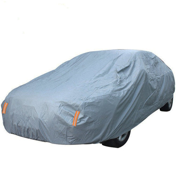 WaterProof Breathable Full Size Sedan Car Cover Indoor Outdoor Universal Fit 230Inch