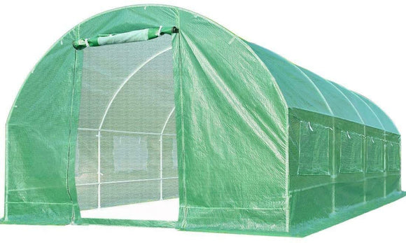 Quictent 20' x 10' x 7' Walk-in Greenhouse-Green