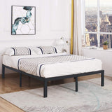 TATAGO 16'' Metal Platform Bed-King