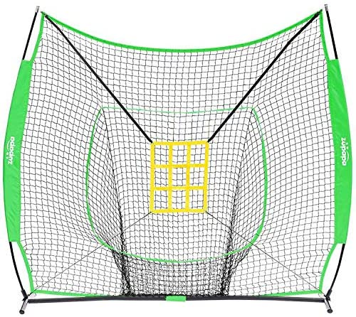 Zupapa 7 x 7 Baseball Net (Green)