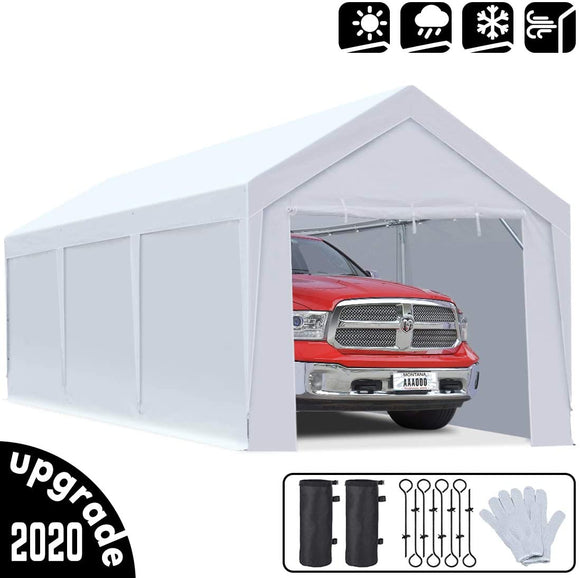 King Bird Upgraded 10' x 20' Carport