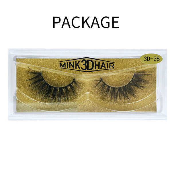 Big 3D Mink False Eyelash  3D-28