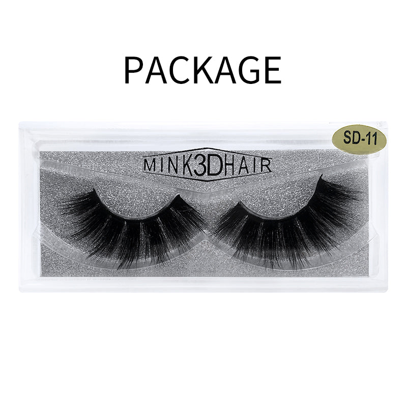 3D Mink False Eyelash SD-11