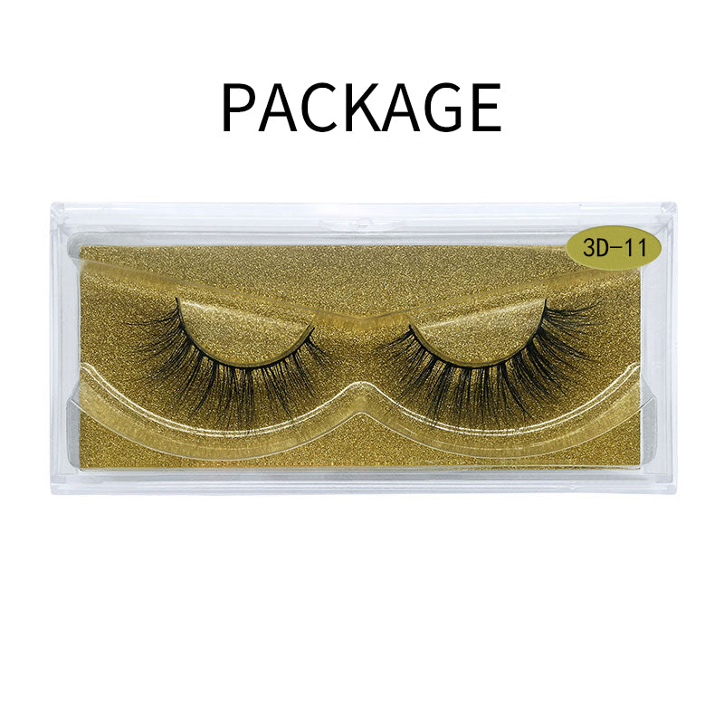 Big 3D Mink False Eyelash  3D-11