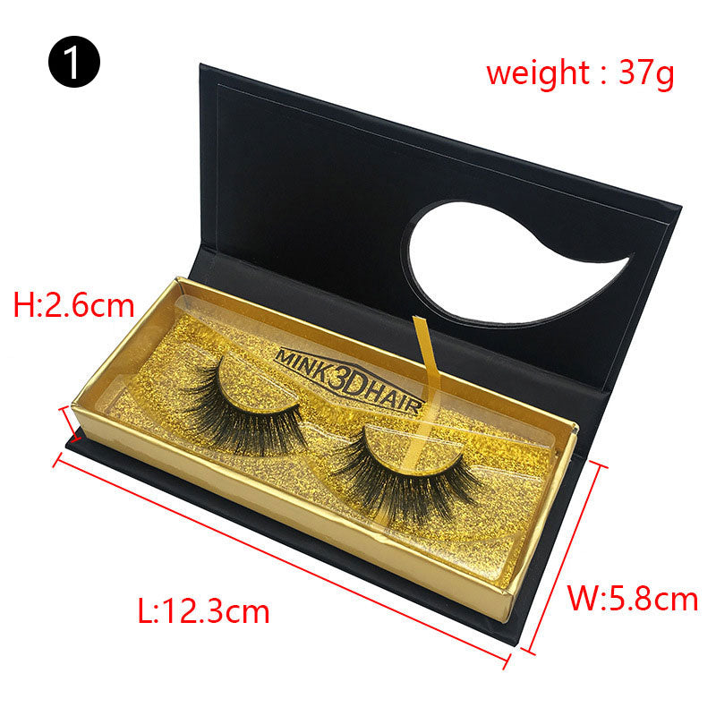 False Eyelash Package Box Premium Cosmetics Box(NO LASHES WITH LOGO)