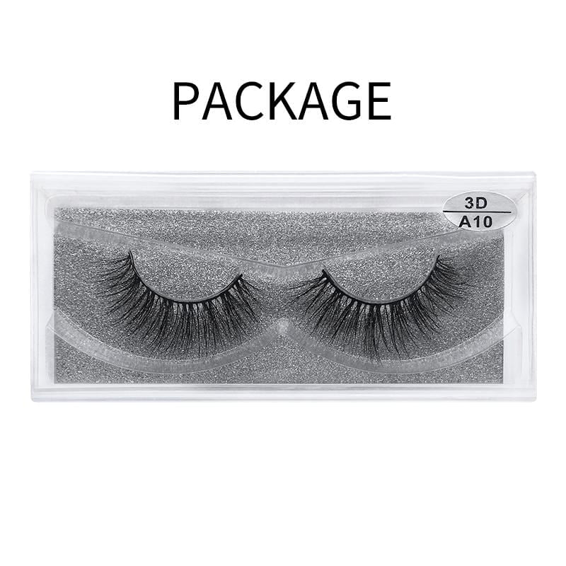3D Mink False Eyelash  A10