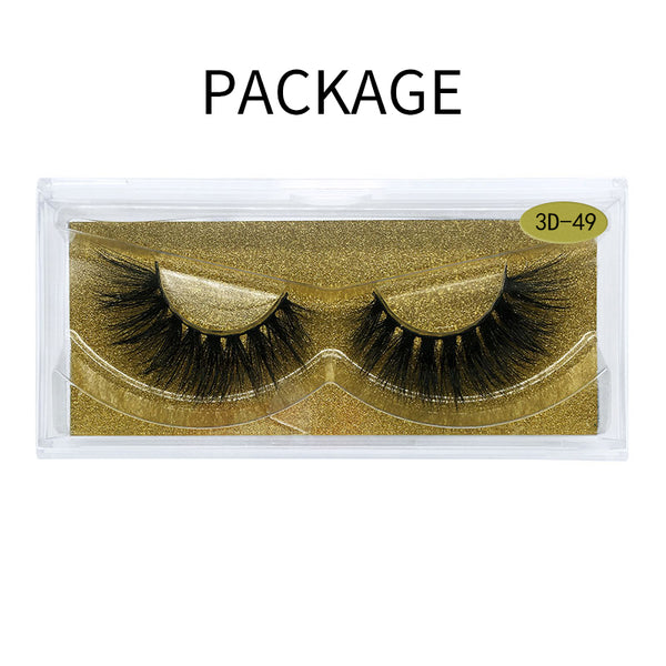 Big 3D Mink False Eyelash  3D-49