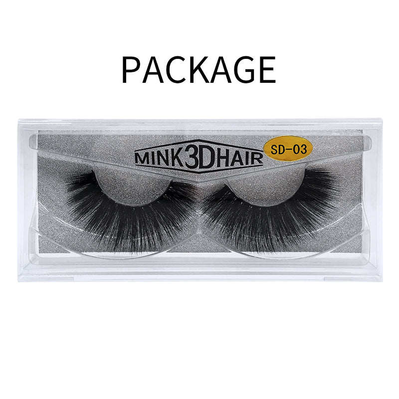 3D Mink False Eyelash SD-03