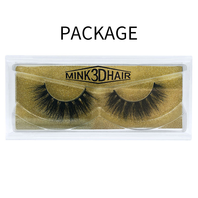 Big 3D Mink False Eyelash  3D-65