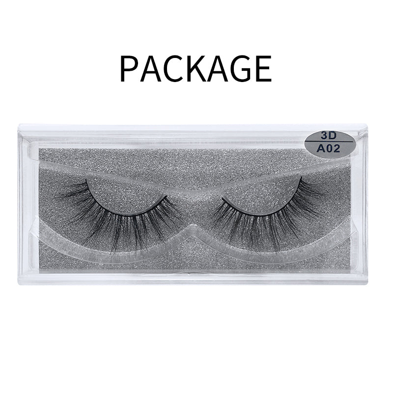 3D Mink False Eyelash  A02