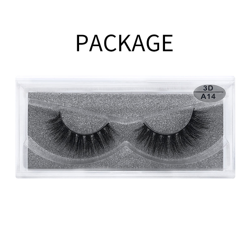 3D Mink False Eyelash  A14