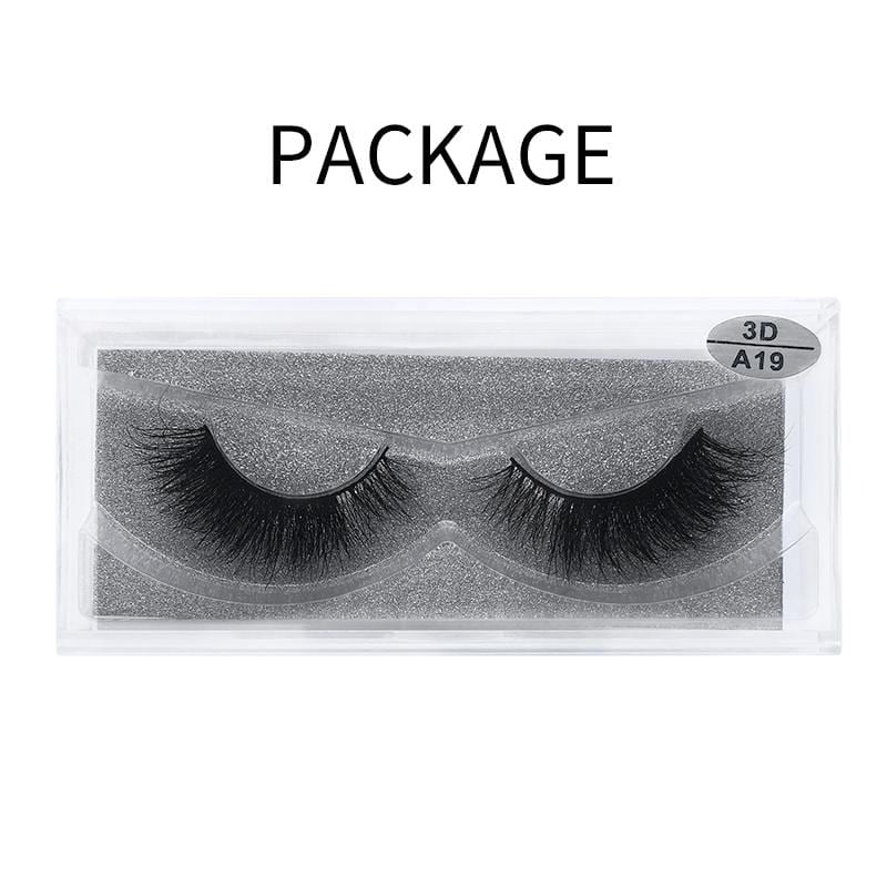 3D Mink False Eyelash  A19