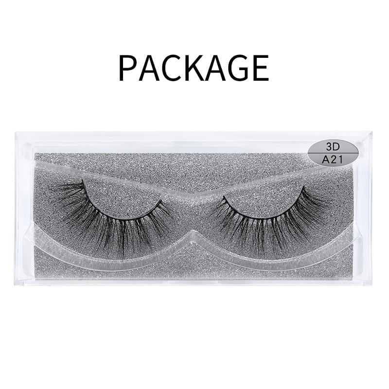 3D Mink False Eyelash A21