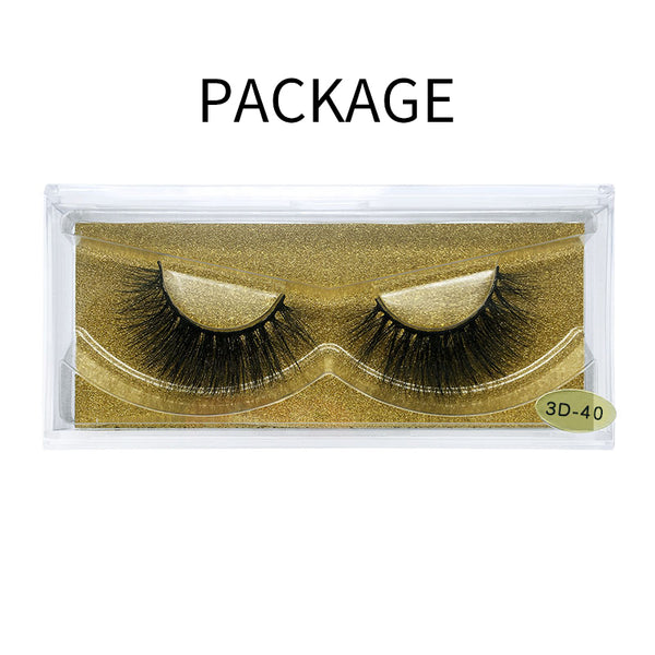 Big 3D Mink False Eyelash 3D-40