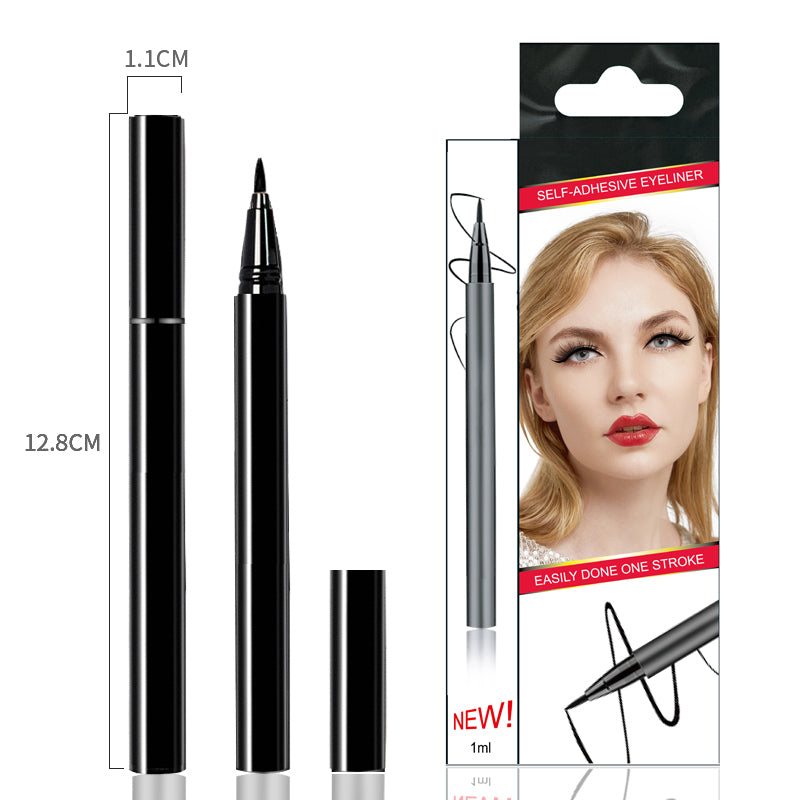 Black Liquid Self Adhesive Eyelashes Eye Liner Pen