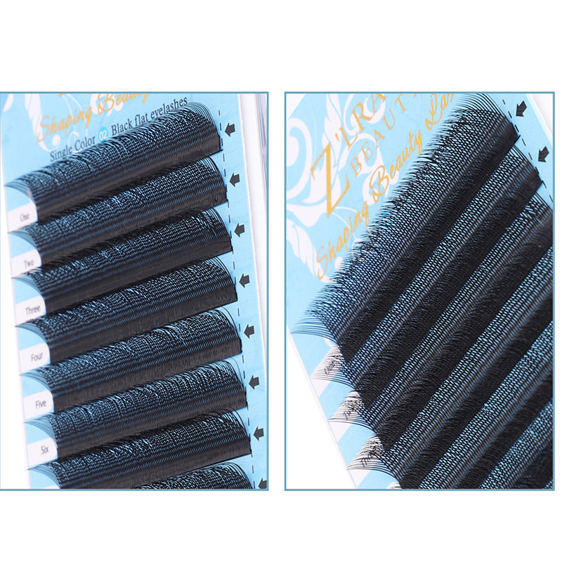 Y Shape Eyelash Extensions C Curl 0.07mm Single Length 8-12mm