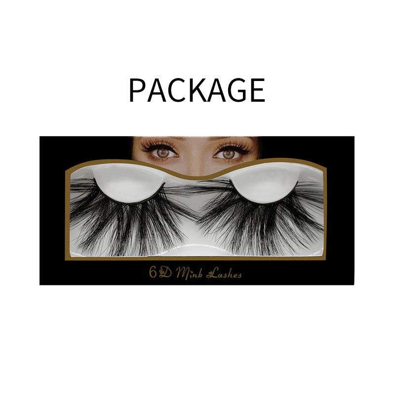 25mm Faux Mink Lashes 6D-07