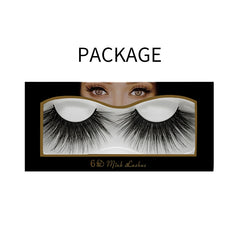 25mm Faux Mink Lashes 6D-10