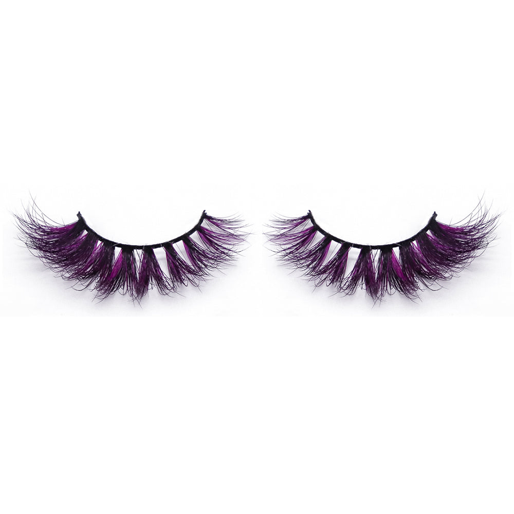 Halloween Color Mink Lashes CL12