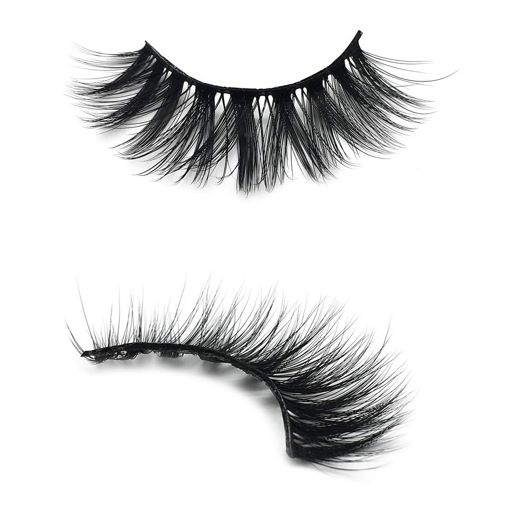 3D Faux Mink Lashes Dramatic False Eyelashes 5 Pairs
