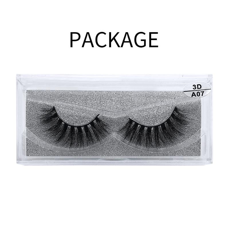 3D Mink False Eyelash  A07