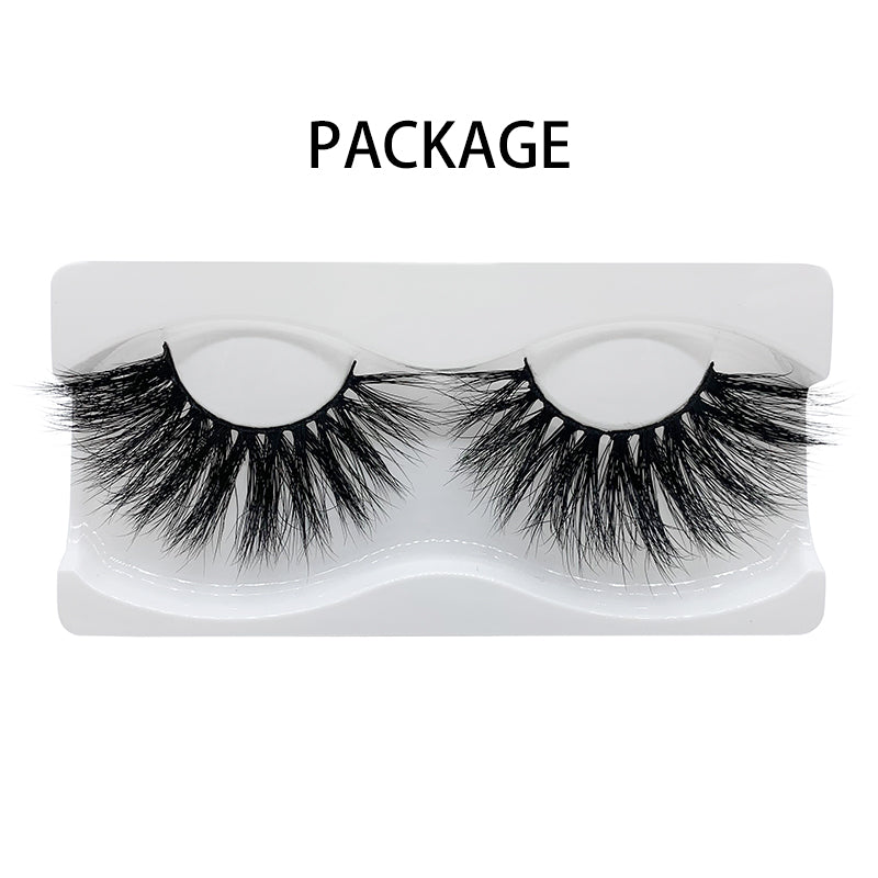 25mm Real Mink Lashes E84