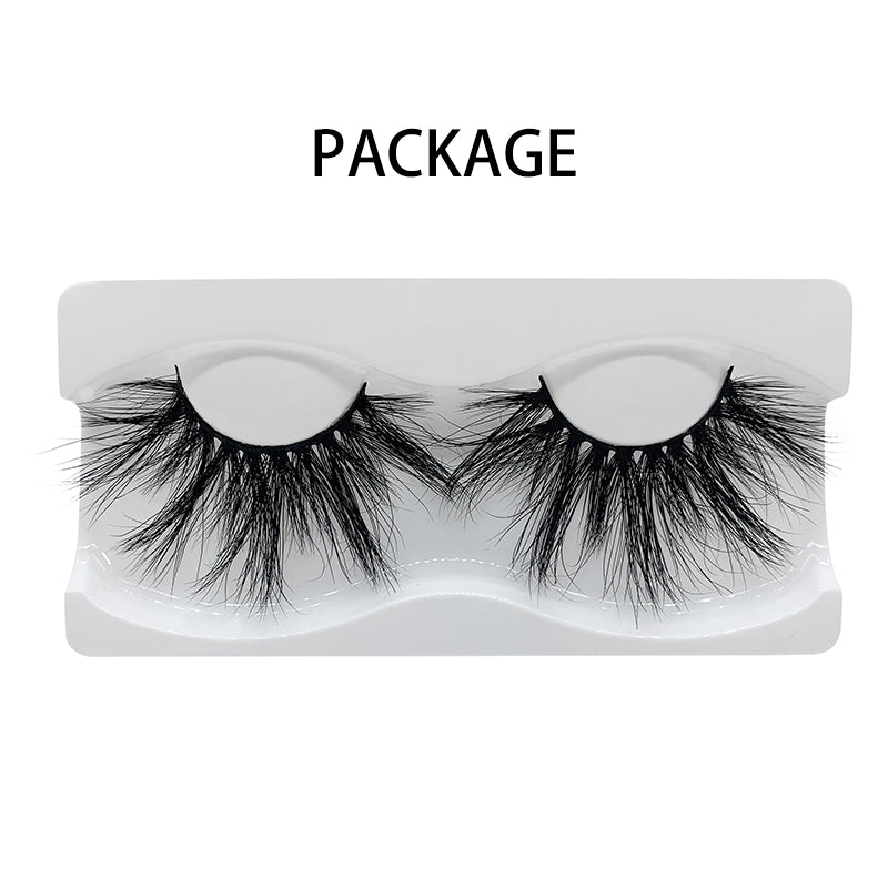 25mm Real Mink Lashes E87